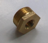 Brass Foundry - Thread Reducing Bushes 1/2 x 1/8 - 07000370